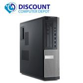 Dell Optiplex 990 Windows 10 Pro Desktop Computer PC Quad i5 3.1GHz 8GB 500GB