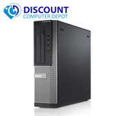 "Dell Optiplex 390 Windows 10 Pro Desktop Computer PC Core i3 3.1GHz 4GB 250GB HDMI Keyboard and Mouse and 17"" Monitor"