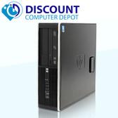 HP 8200 Desktop Computer i5 3.1GHz 8GB 1TB Windows 10 Pro Dual Monitor Ready