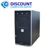 Fast Dell Optiplex Desktop Computer Windows 10 PC Core 2 Duo PC 4GB 160GB