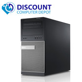 Fast Dell Optiplex 390 Desktop Computer Windows 10 Tower Core i3 PC 4GB 160GB Wifi
