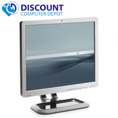 "HP 17"" Flat Panel Screen LCD Monitor with VGA Cable"