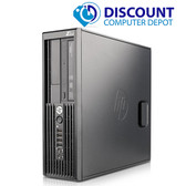 HP Z-Series Workstation Desktop Computer PC i3 3.1GHZ 8GB 500GB Windows 10 Pro