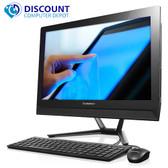 "Lenovo C40 21.5"" Touchscreen all-in-one Desktop Quad Core 1.8GHz Windows 10 Pro"