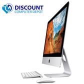 "Apple iMac 21.5"" AIO Desktop Computer Quad Core i5 8GB 1TB Sierra Late 2012"