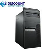 Fast Lenovo Windows 10 Desktop Computer Core i3 Tower 3.2GHz PC 4GB 320GB Wifi