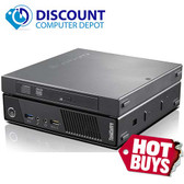 Lenovo ThinkCentre M92 USFF Tiny Desktop PC Windows 10 Core i5 4GB 240GB SSD DVD-RW