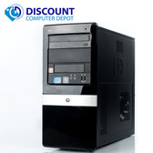 Fast HP 3130 Destop Computer Tower PC Core i3 3.2GHz 4GB 250GB Windows 10