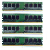 4GB PC2-5300 Desktop Computer Memory Upgrade Kit