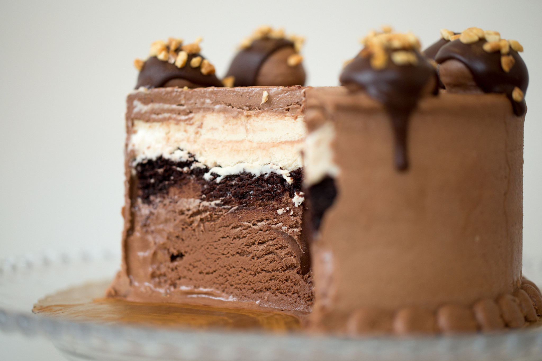 Ingredient Baked Ice Cream Cake