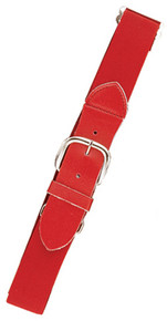 Joe's USA Scarlet Baseball Uniform Belts