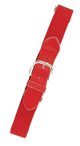 Joe's USA Red Baseball Uniform Belts