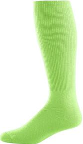 Lime Green Soccer Game Socks