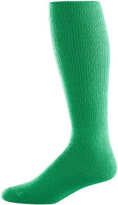 Kelly Green Football Game Socks