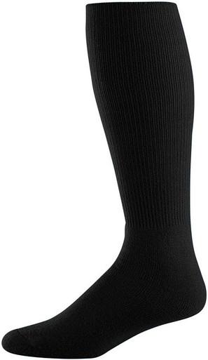 Black Football Game Socks
