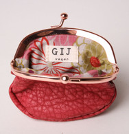 Sunset Coin Purse Cherry Red