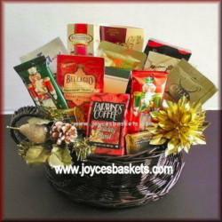Holiday Coffee Basket