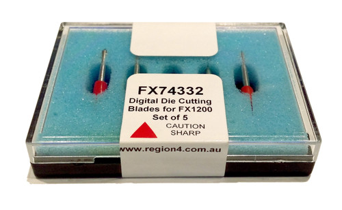 Primera FX1200 Digital Die Cutting Blades, 5 pack