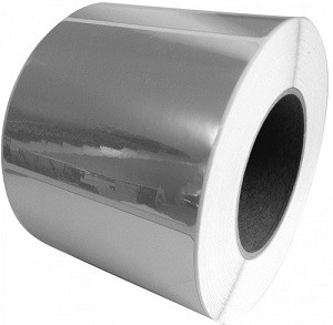 LX7051025 Primera Gloss Silver Polyester Label Stock 51mm x 25mm, 2500 labels