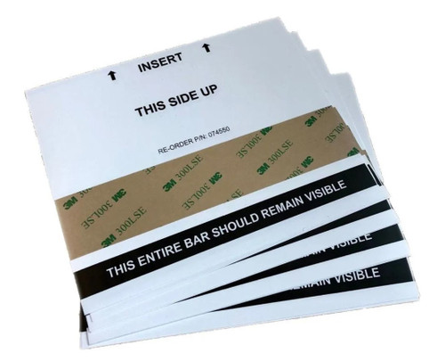 Primera Output Cutter Cleaning Cards, pack of 10 (74550)
