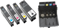 LX900 multi-pack Ink Cartridges CMYK plus Semi-permanent Print Head
