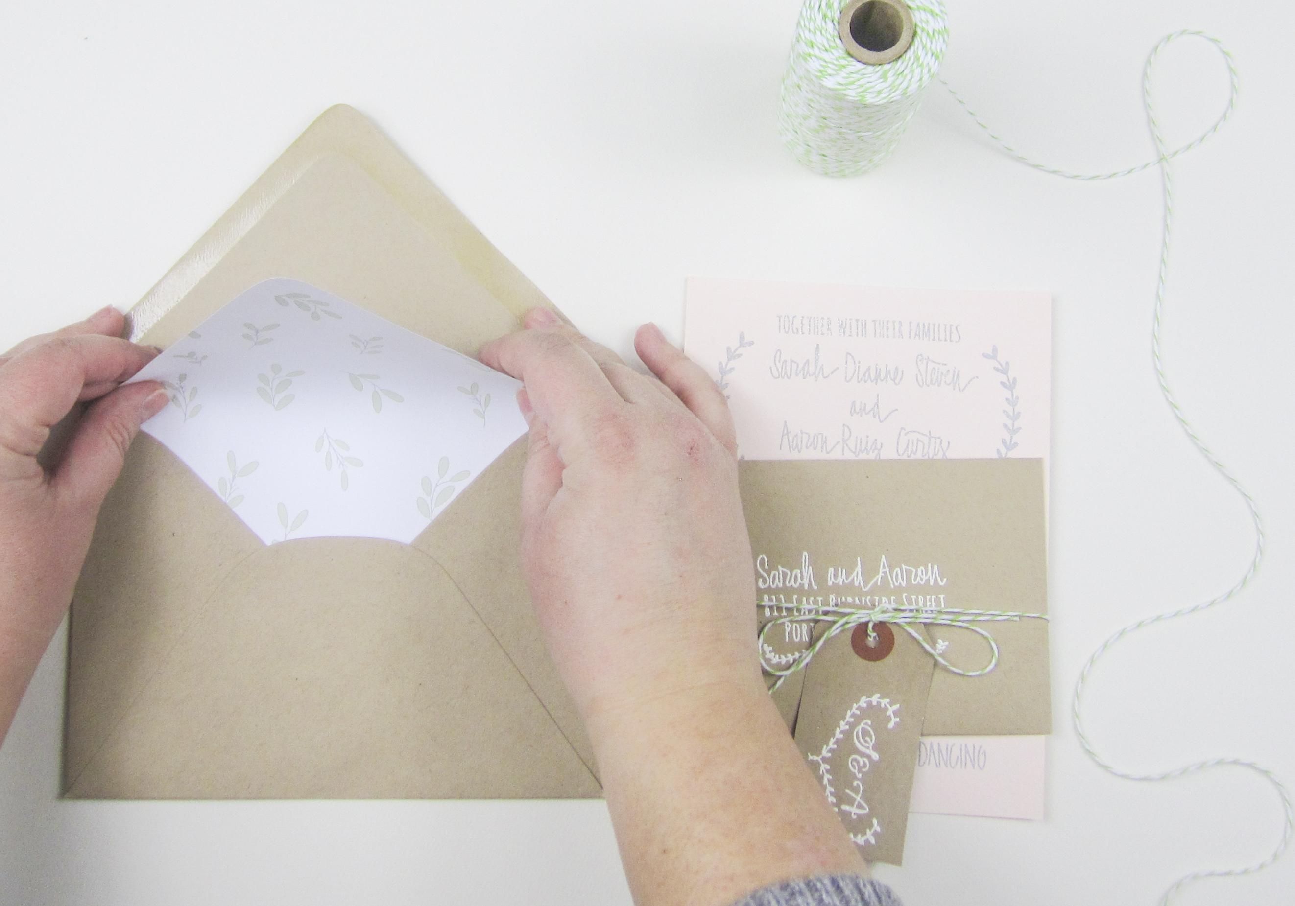 Styling Paper Sushi\'s Laurel Wedding Invitation Suite - PaperSushi