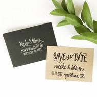 Save the Date Stamp - Scribble
