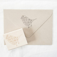 Bird Address Stamp