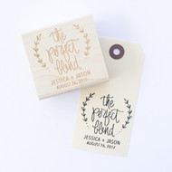 Wedding Favor Stamp - The Perfect Blend