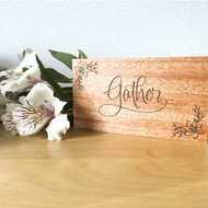 Gather Table Sign
