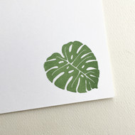 Monstera Stamp