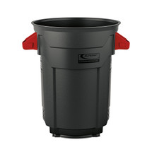 Suncast Plastic Utility Trash Can - 20 Gallon