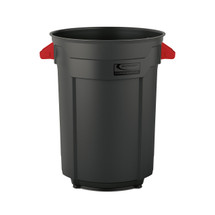 Suncast Plastic Utility Trash Can - 55 Gallon
