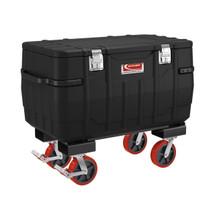 "Suncast 48"" Job Box with Fork Lift and Casters"