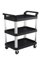 RESTAURANT/SERVICE CART - 3 SHELF 20X30