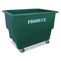 Royal Produce Cart, 32 x 46 x 37, 600 lbs. Capacity, Green