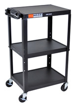Luxor Av Cart BLACK AVJ42