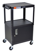 Luxor Av Cart BLACK AVJ42C