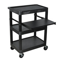 Luxor Presentation Cart BLACK LT34-B