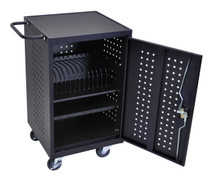 Luxor Tablet Charging Cart LLTM16-B