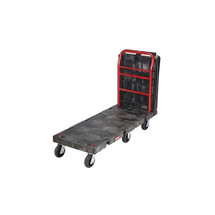 Rubbermaid Commercial Convertible Platform Truck, 2000-lb Cap., 25 1/4w x 61 1/2d x 41 1/10h, Black