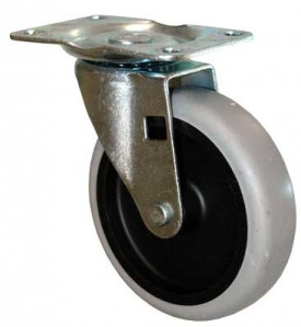 """Replacement 4"""" Caster for the 3/4"""" Utility Tilt Truck  Fits 1011, 2646, 9T13"""
