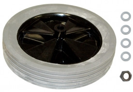 """Rubbermaid 1011 replacement 12"""" Wheel for the 3/4 cubic yard Tilt Truck Utility duty"""