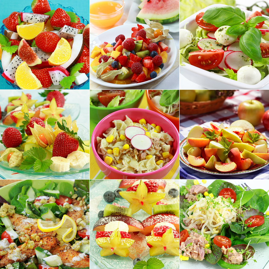 Healthy meals are great for getting your spirits up!