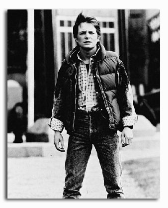 (SS160030) Michael J. Fox  Back to the Future Part II Movie Photo