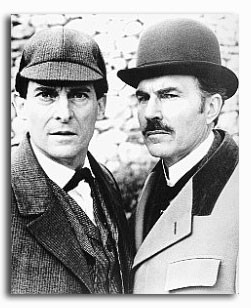 (SS167999) Cast   The Adventures of Sherlock Holmes Television Photo