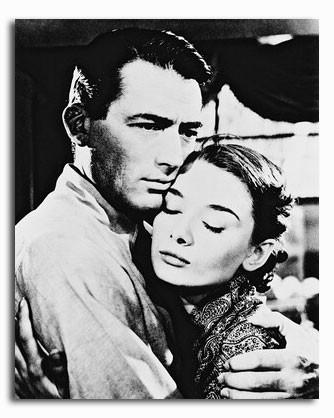 (SS174707) Audrey Hepburn  Roman Holiday Movie Photo