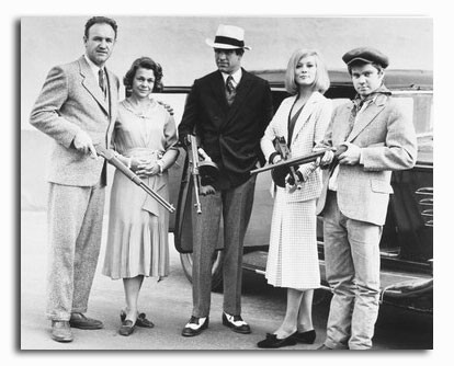 (SS2120547) Cast   Bonnie and Clyde Movie Photo