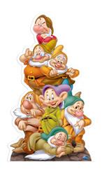 Seven Dwarves Disney Cutout