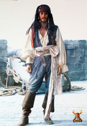 PIRATES OF THE CARRIBEAN: DEAD MAN'S CHEST (Full Body Shot Reprint) REPRINT POSTER